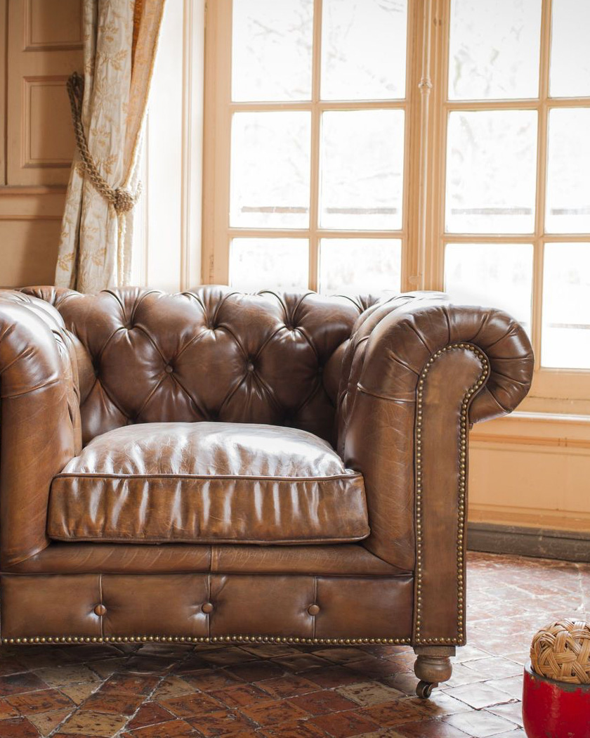 fauteuil chesterfield pib