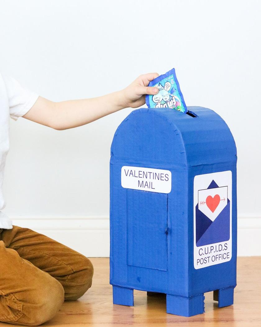 diy a imprimer saint valentin boite à lettres