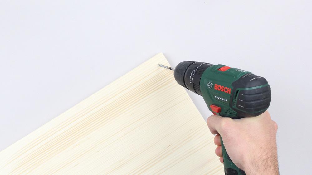 organiseur mural bois diy etape 10
