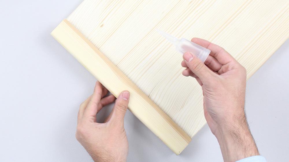 organiseur mural bois diy etape 11