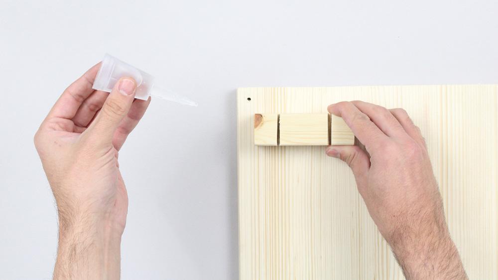 organiseur mural bois diy etape 12