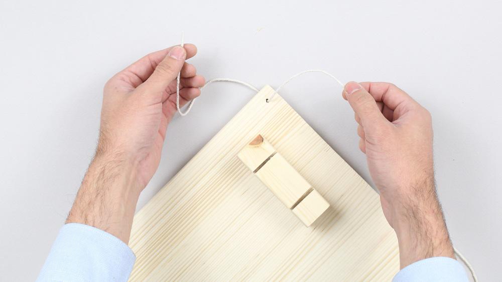 organiseur mural bois diy etape 13