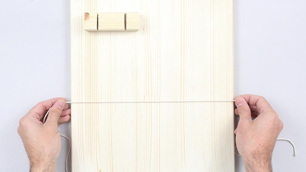 organiseur mural bois diy etape 14