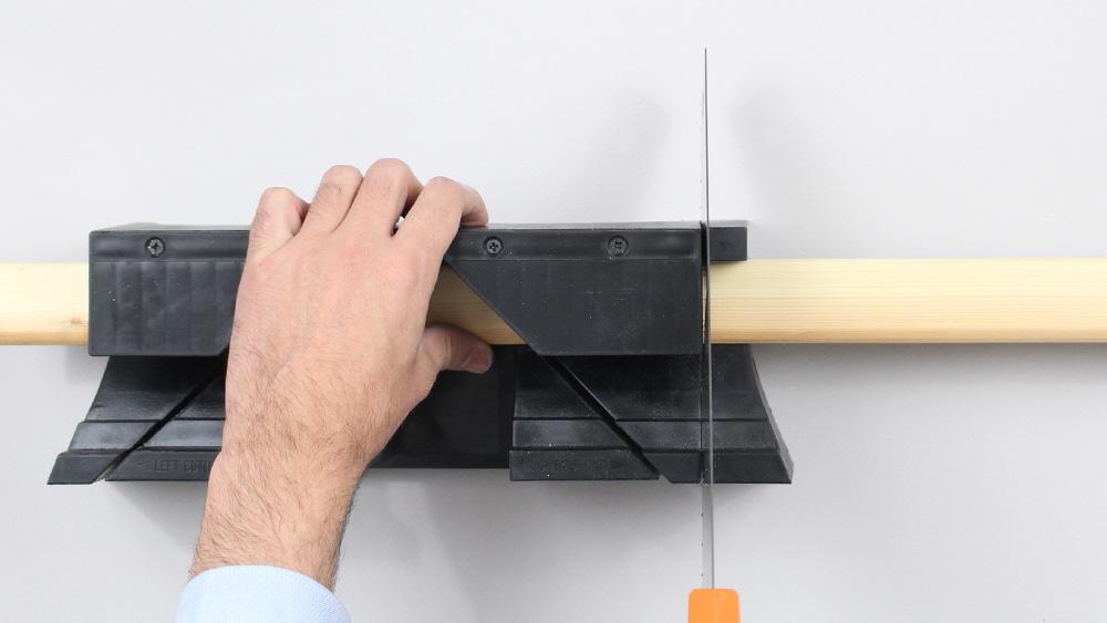 organiseur mural bois diy etape 6