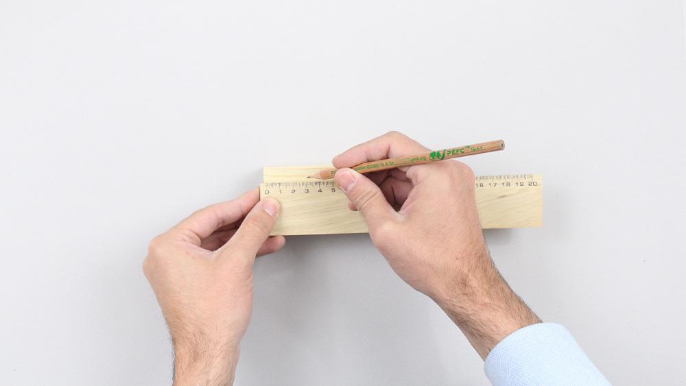 organiseur mural bois diy etape 8