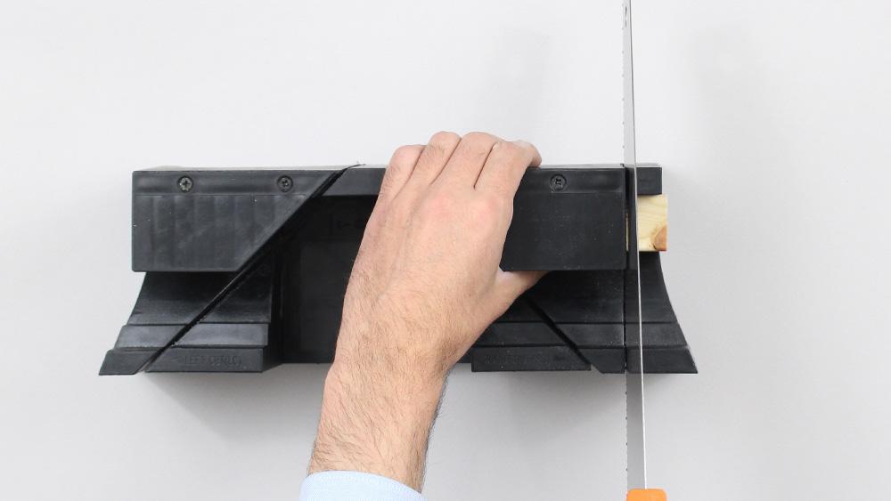 organiseur mural bois diy etape 9