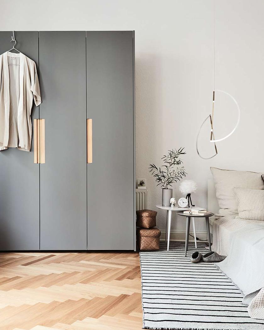meuble personnalisable mycs armoire grise