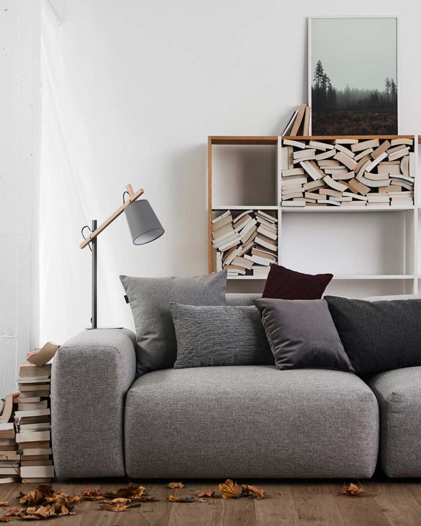 meuble personnalisable mycs canapé gris
