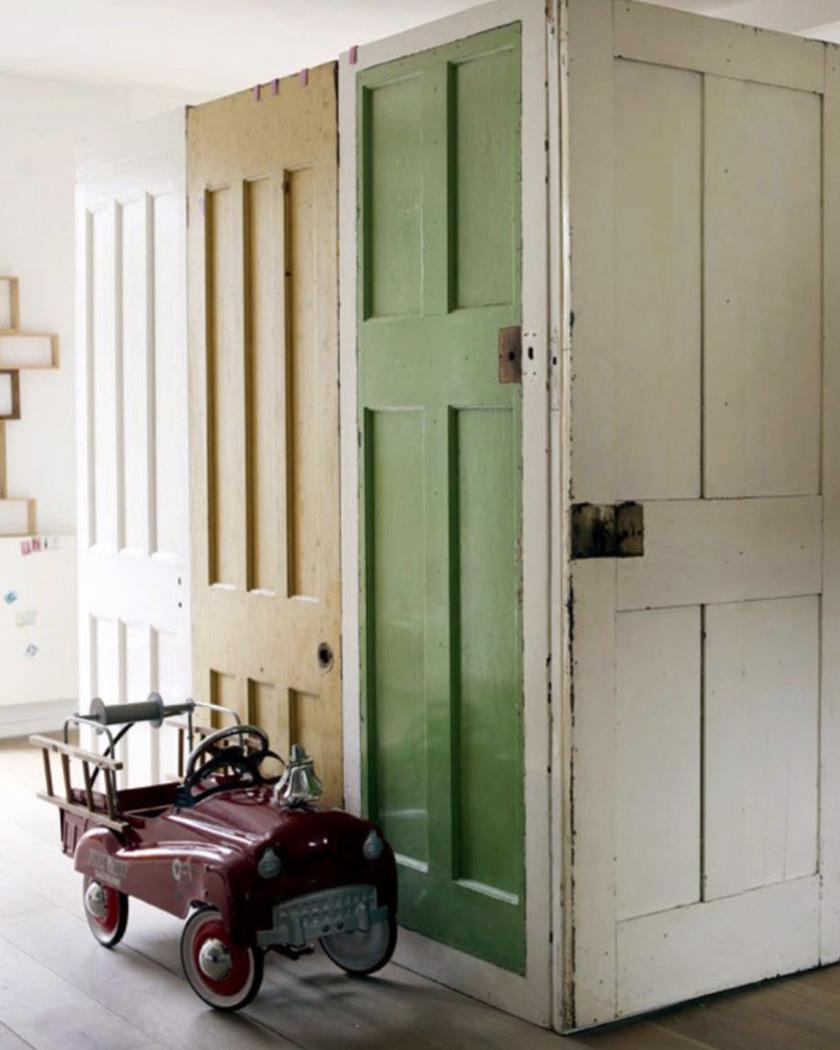 cloison amovible diy portes