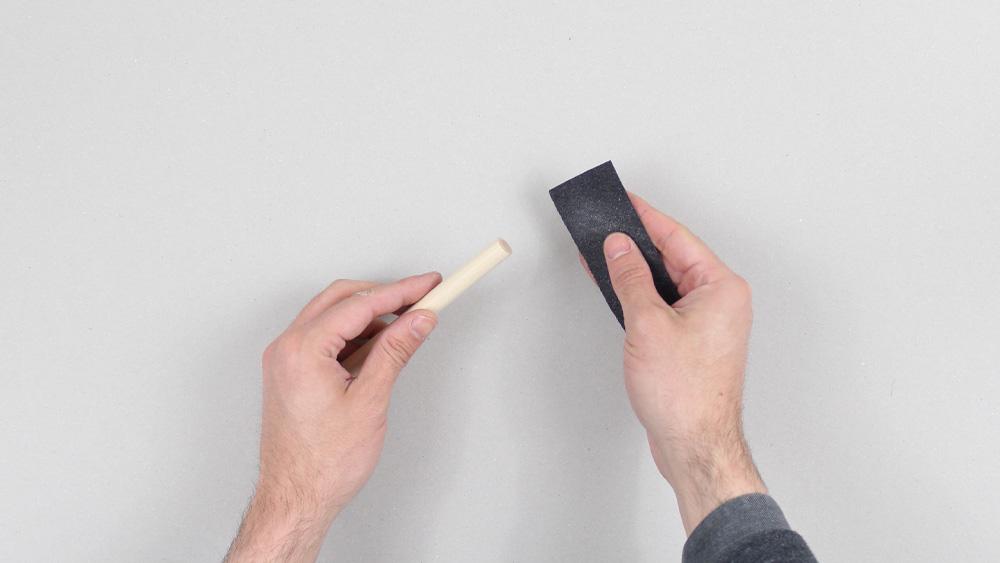 dessous de plat bois cuir diy etape