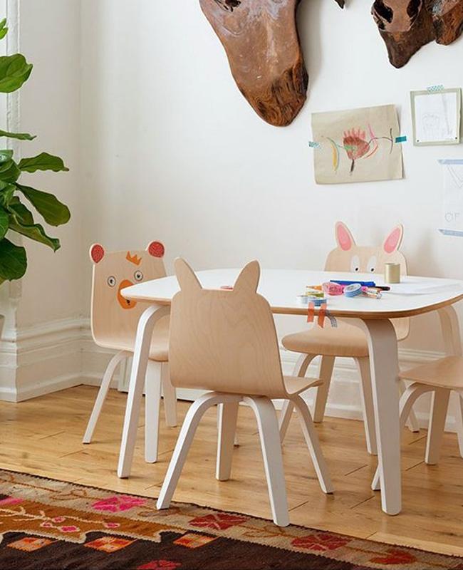 chaise enfant lapin
