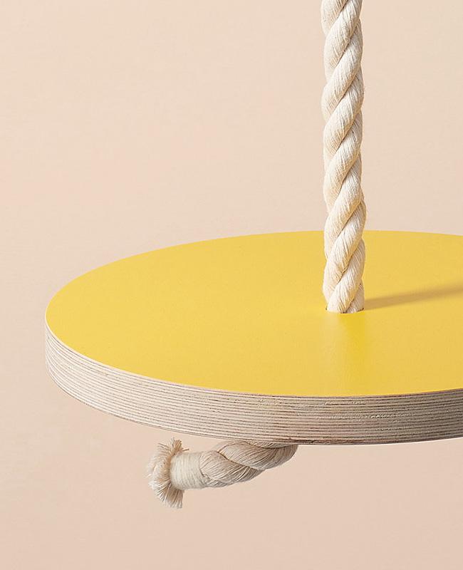 jouet enfant etsy des enfantillages balançoire jaune