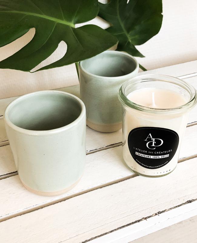 atelier des créateurs tasses bougies cire soja