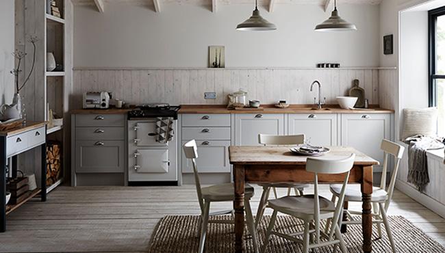 Une cuisine comme dans une maison de campagne | Shake My Blog