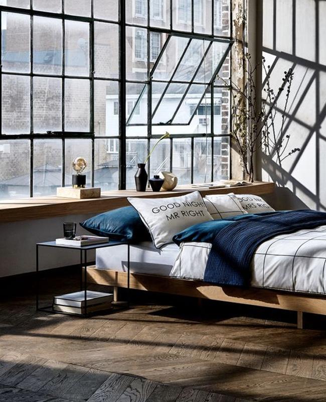 Une chambre la d co industrielle shake my blog - Deco industrielle chambre ...