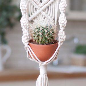 etsy happy flowers ceramics suspension plante