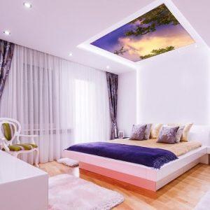 plafonnier led simar design chambre