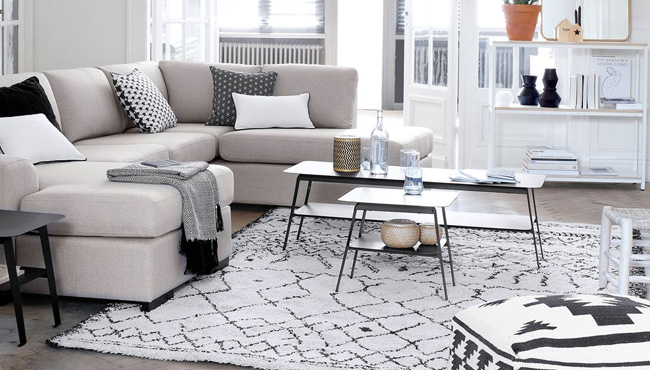 Une table basse contemporaine pour le salon | Shake My Blog