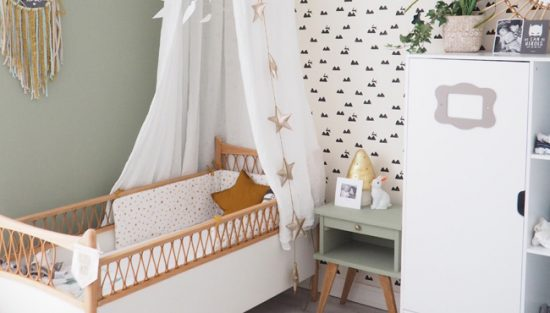 deco vert chambre bébé