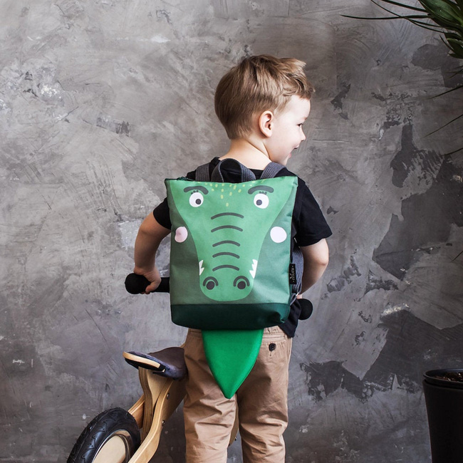 sac à dos enfant animal muni etsy crocodile