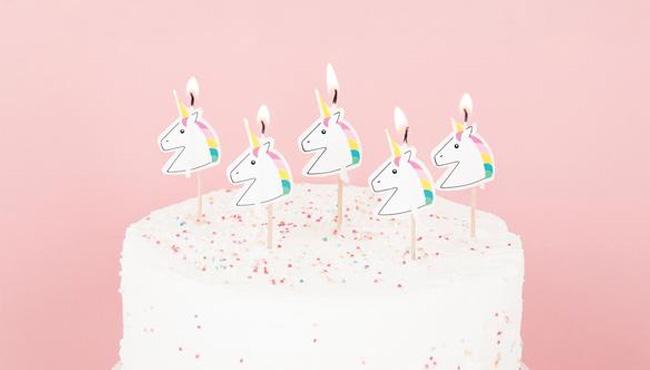 accessoire deco anniversaire licorne