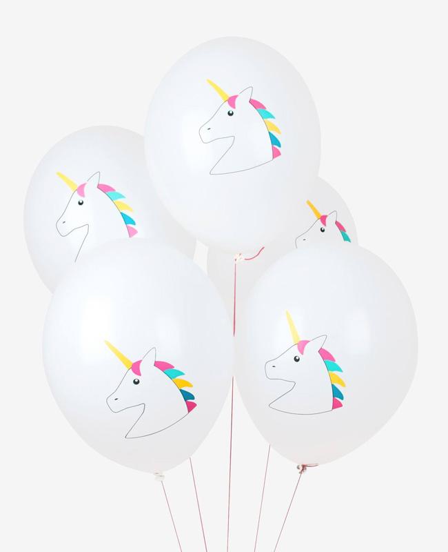 accessoire deco anniversaire licorne ballon