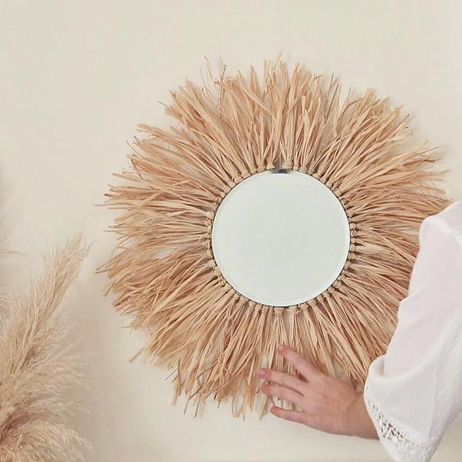 juju hat diy naturel miroir