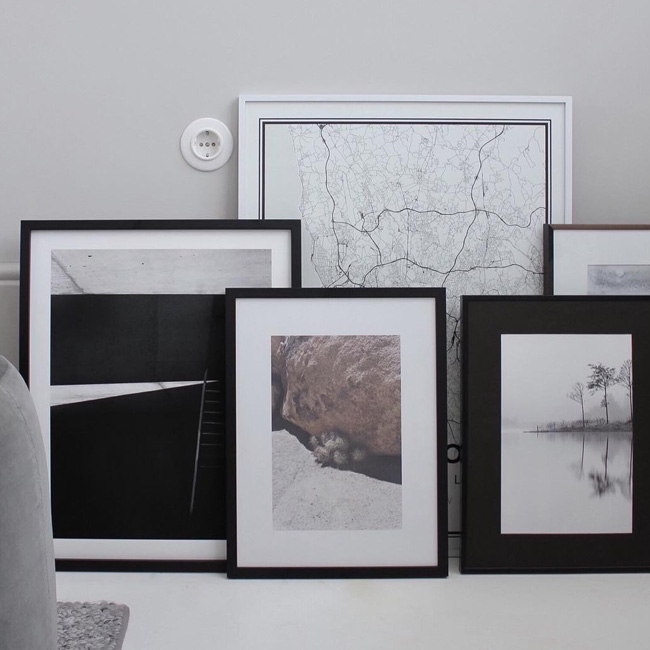 visite deco minimaliste cadres