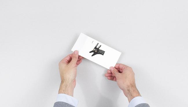 calendrier avent a imprimer diy noir et blanc étape 2
