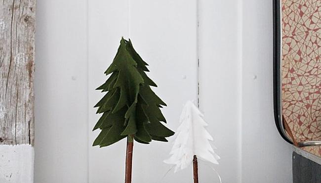 Une déco de Noël DIY en feutrine  idées et tutos à faire