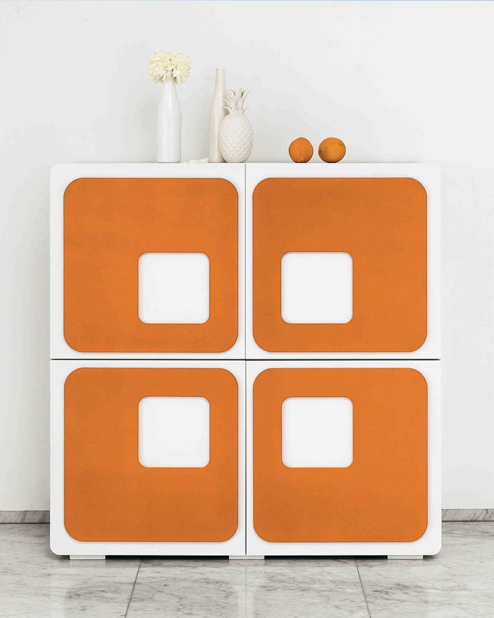 deco orange buffet