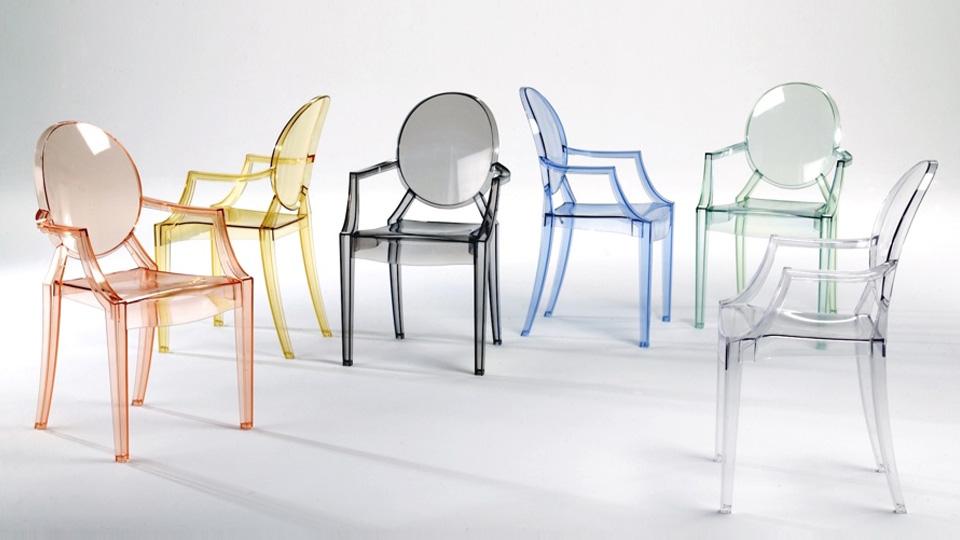 fauteuil louis ghost teinté