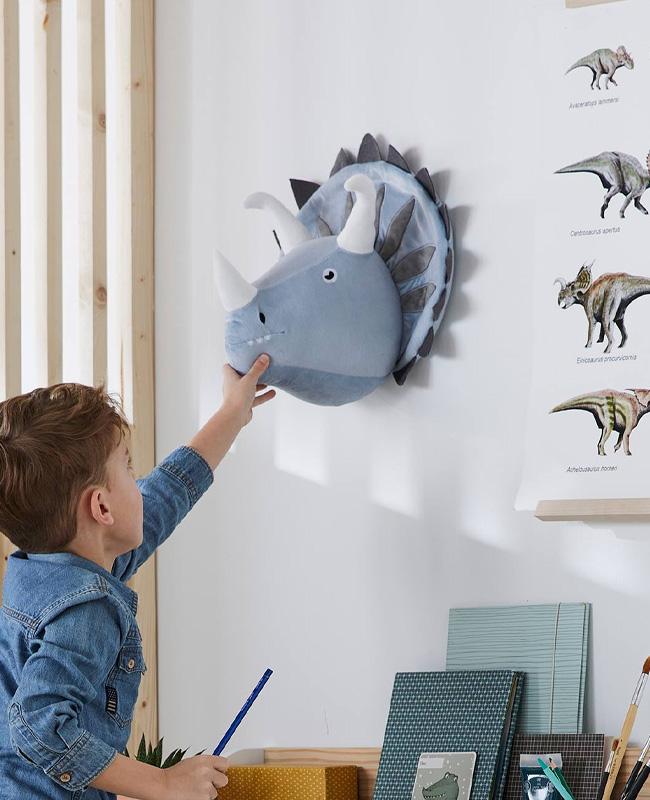 trophée peluche enfant dinosaure