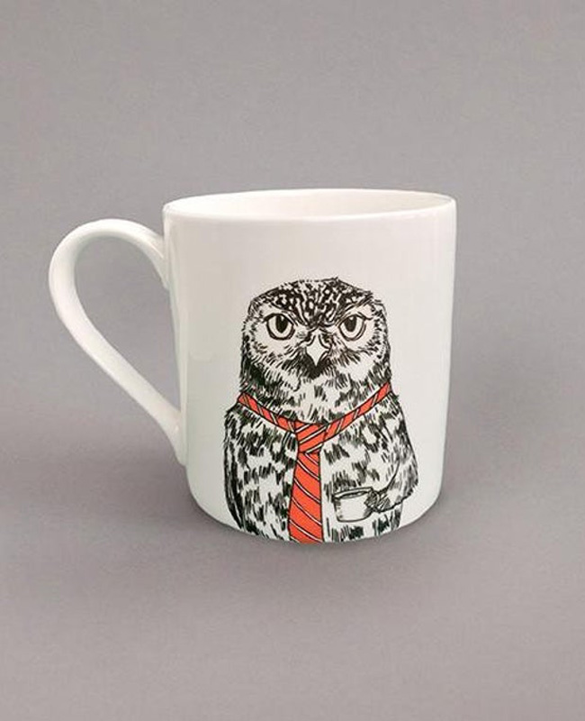 céramique animal jimbob art etsy tasse chouette