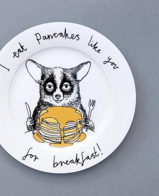 céramique animal jimbob art etsy assiette crêpe