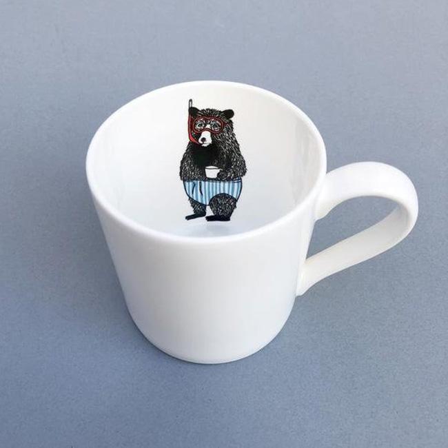 céramique animal jimbob art etsy tasse monsieur ours