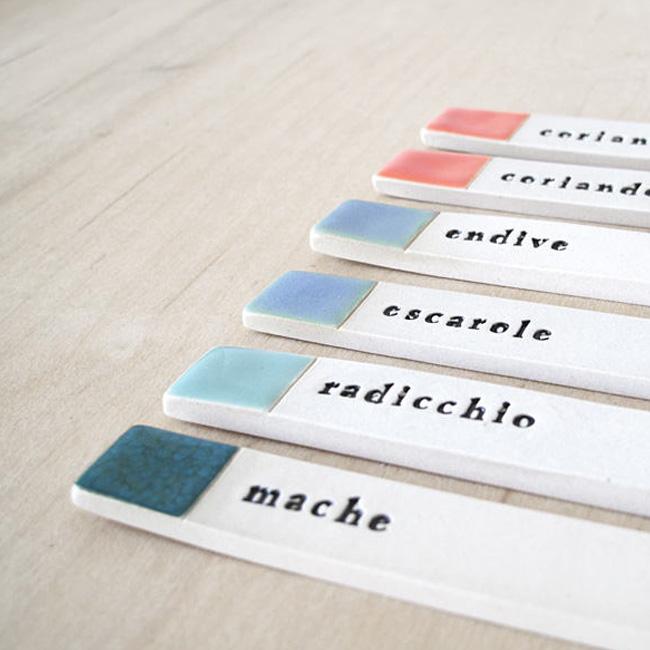 paulova etsy étiquettes jardin porcelaine