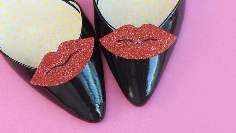 clip chaussure diy