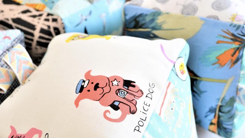 cube bebe tissu diy