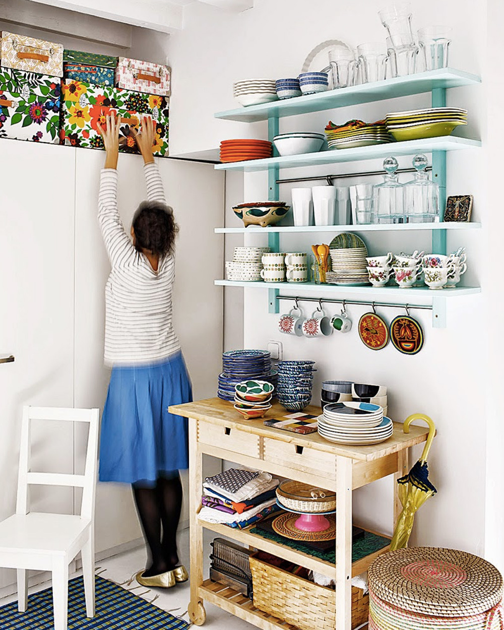 déco cuisine vaisselle