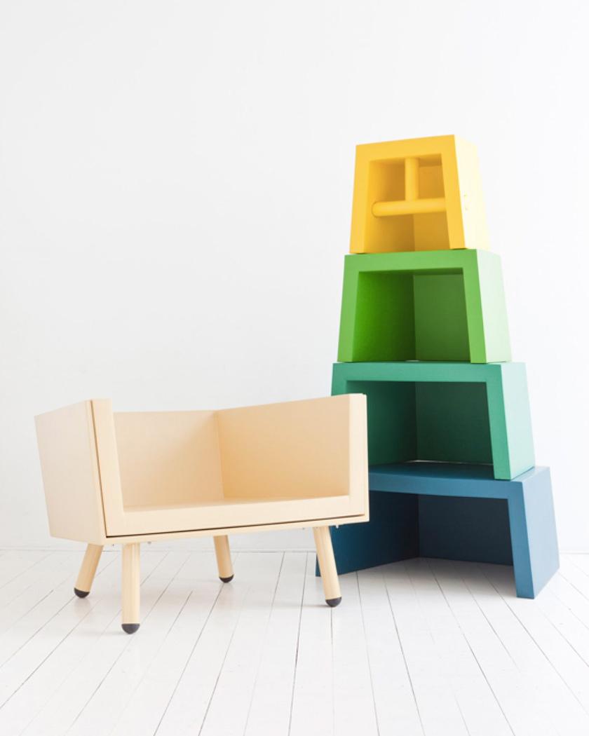 fauteuil évolutif enfant stacking throne