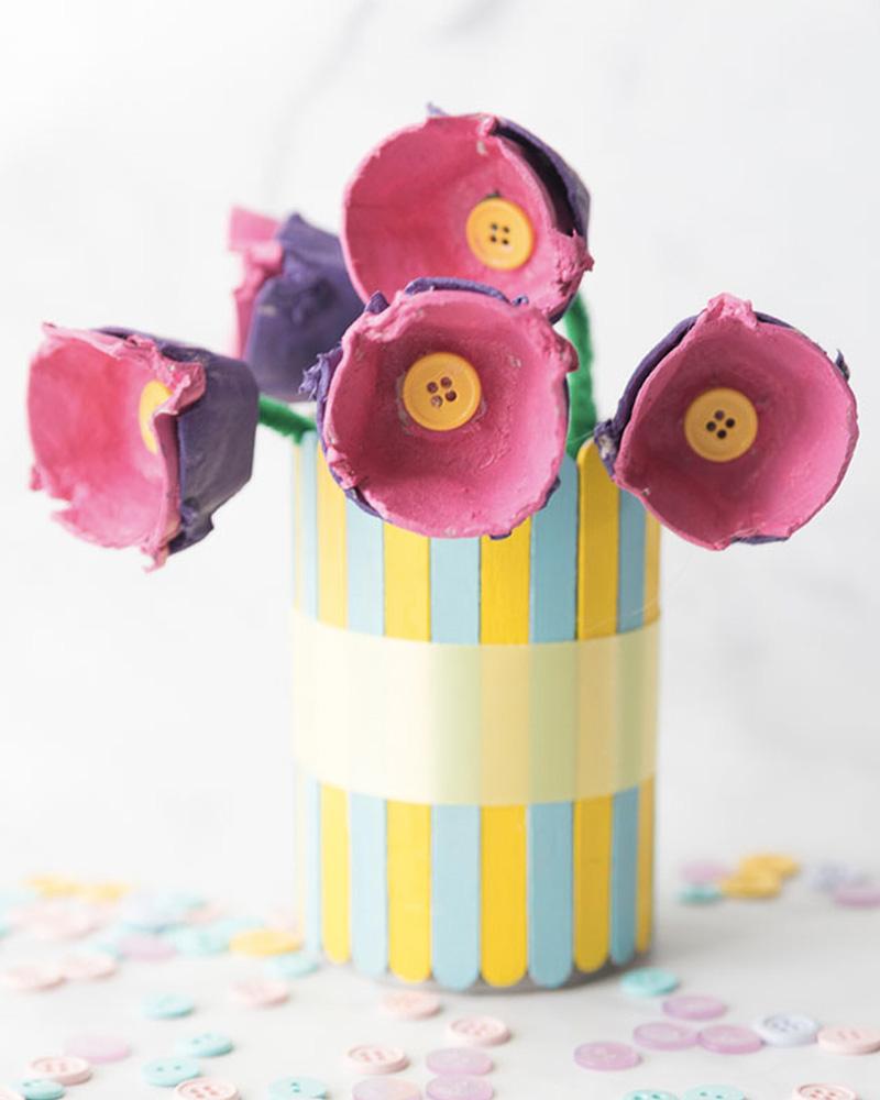 fleur carton diy