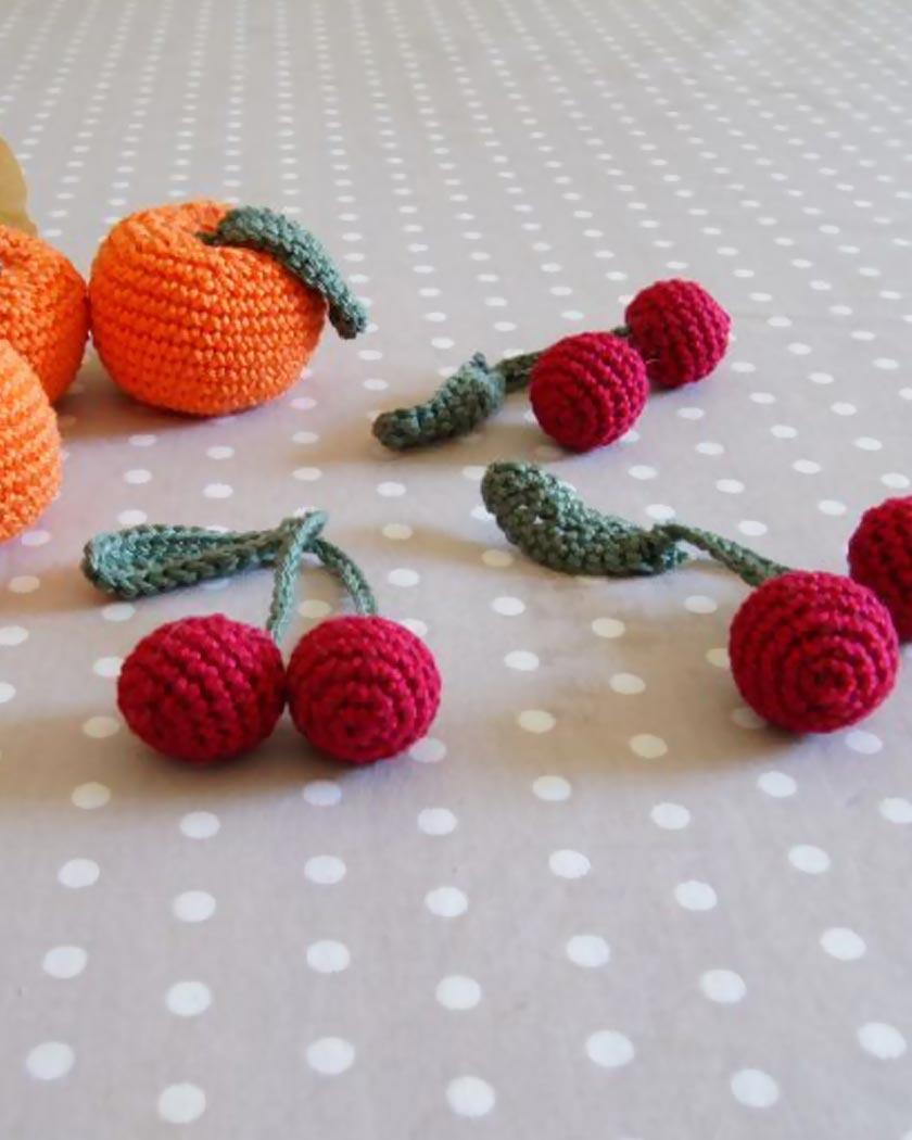 invitation cerise diy crochet
