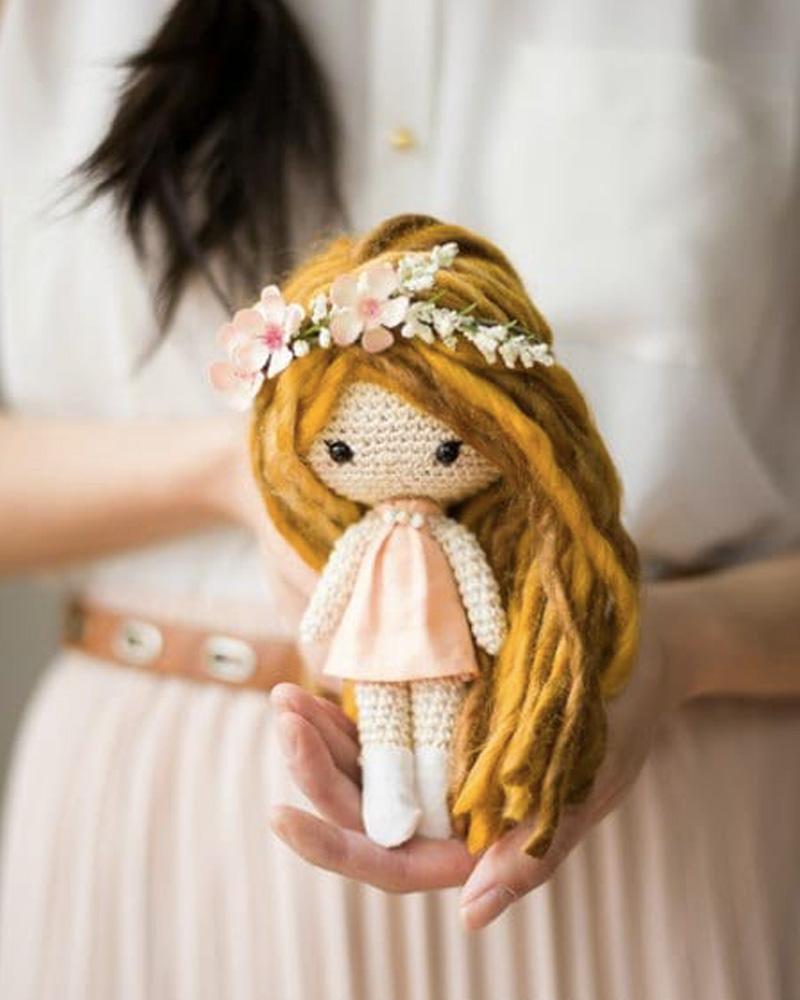 poupée crochet diy