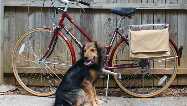 sac vélo diy