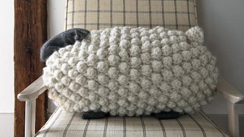 coussin mouton diy