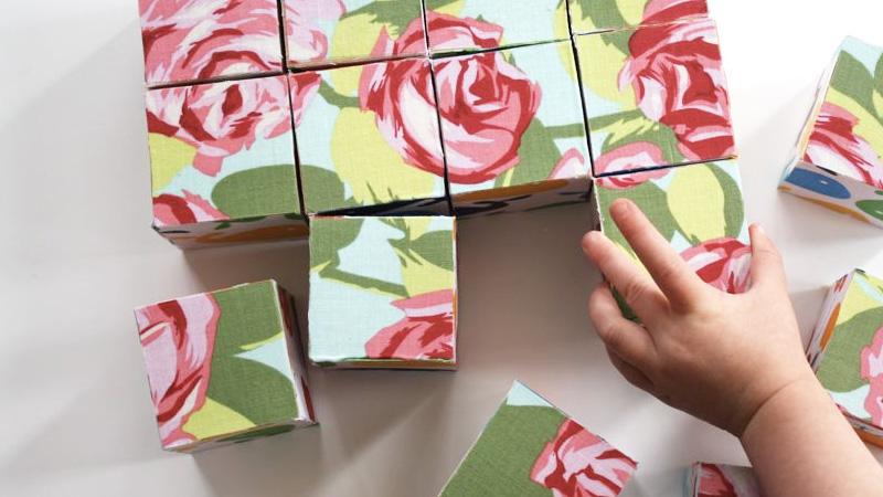 puzzle cube bois enfant diy