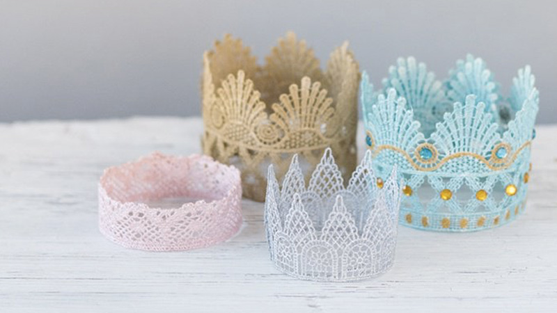 couronne princesse diy