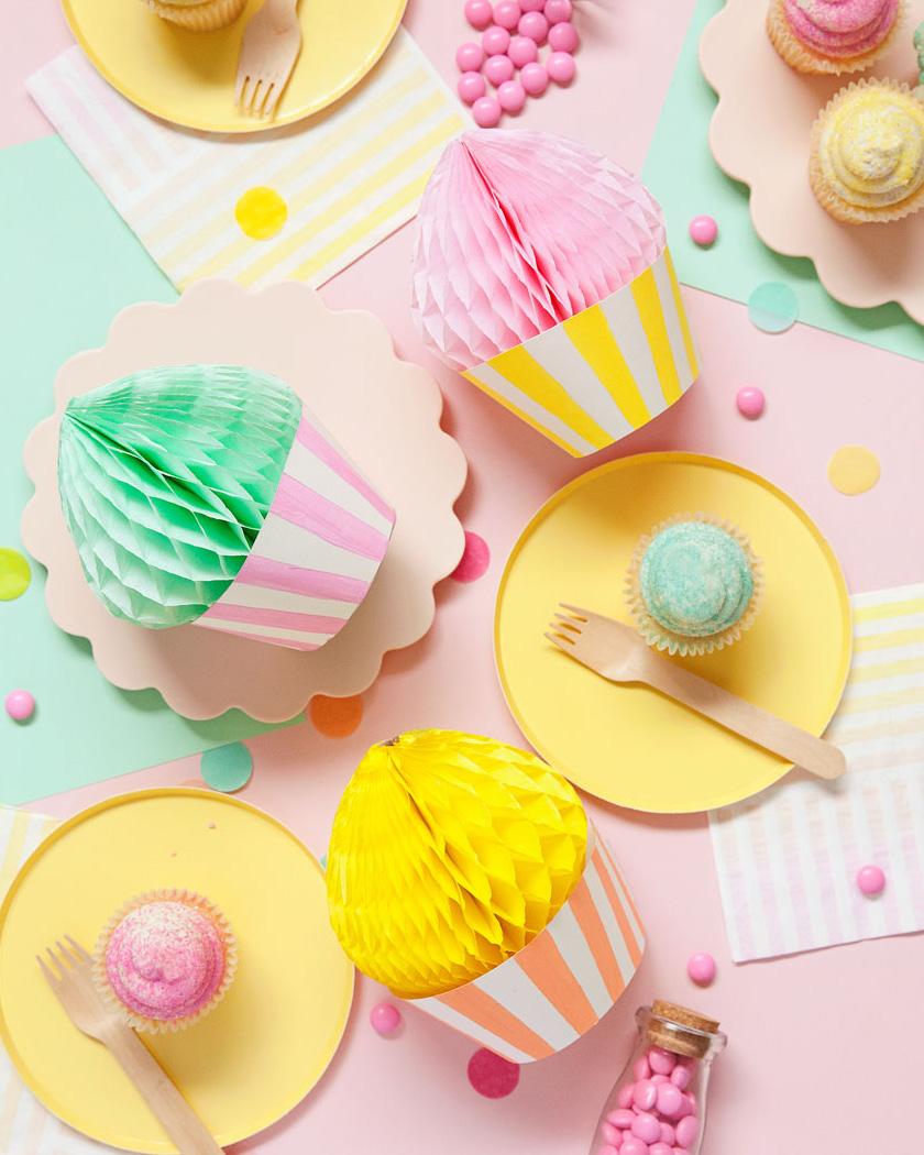 cupcake papier diy