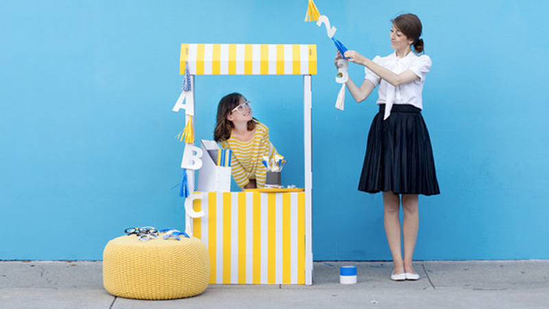 stand limonade enfant diy